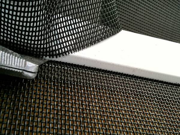 Aluminum Tuff Mesh Black 14 Or 16 Mesh Insect Screen