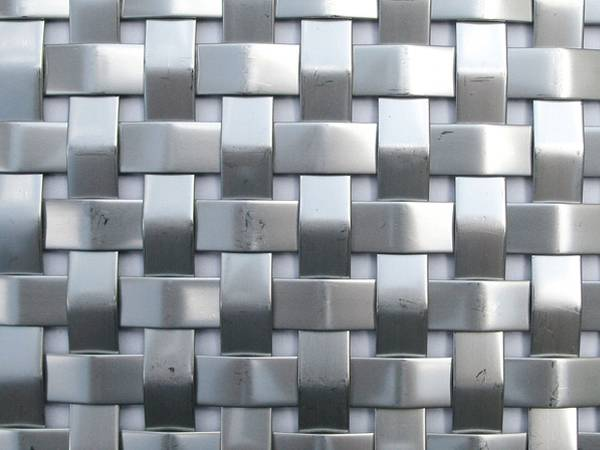 Aluminum Architectural Mesh For Building Decoration